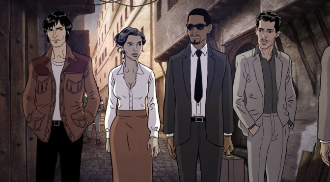 """Black is beltza"" de Fermin Muguruza, bien plus qu'un film d'animation"