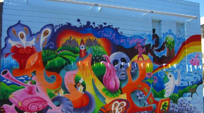 """""""Street Art"""", emazte grafitilarien eskutik"""