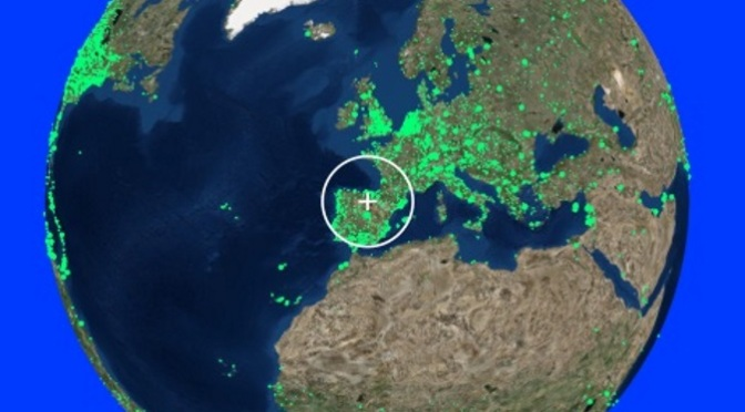 Radio Garden, munduko irratien itzuli interaktiboa